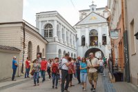 Vilnius is increasingly discovered by tourists from Germany, Latvia and Poland