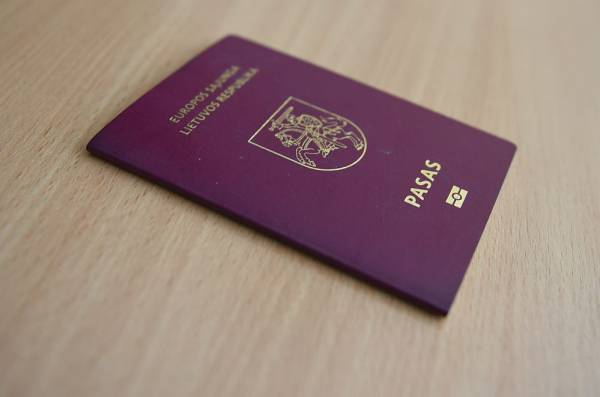 Lithuania reintroduces visa fee for Belarusian citizen