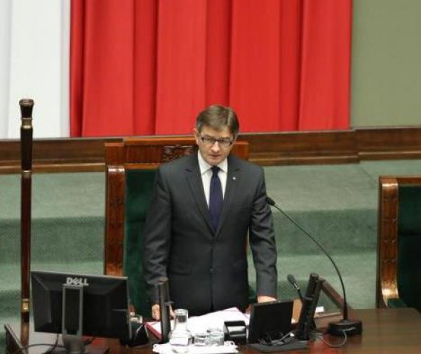 Marshal of the Sejm of the Republic of Poland wrote favourably about Poles in Lithuania