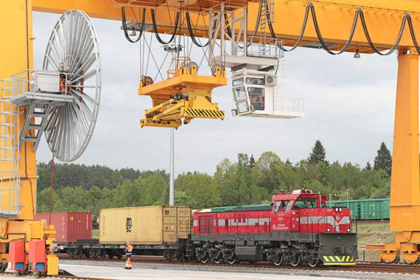 Transit cargo volumes to go down, CEO of Lithuanian Railways says