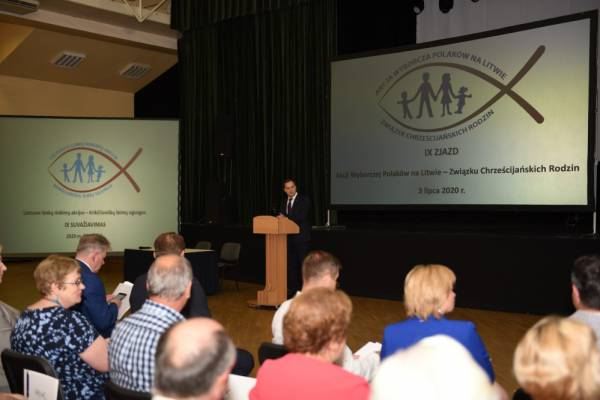 9th Convention of the Electoral Action of Poles in Lithuania – Christian Families Alliance
