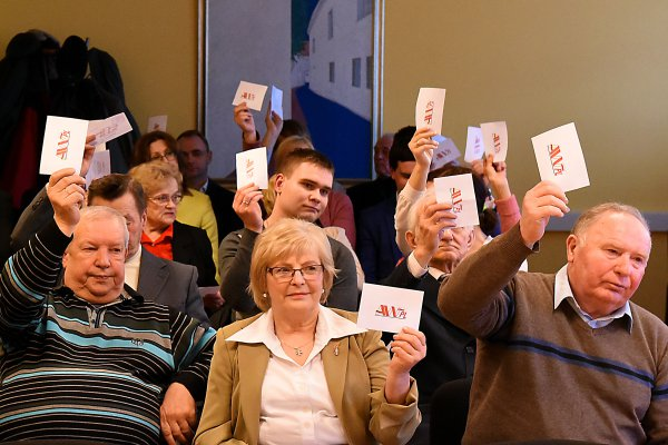 """Vilnius AWPL's conference. """"To keep up with the residents' problems and resolve them"""""""