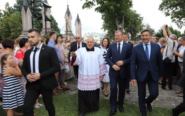 Prime Minister Skvernelis visited Lithuanian community in Poland